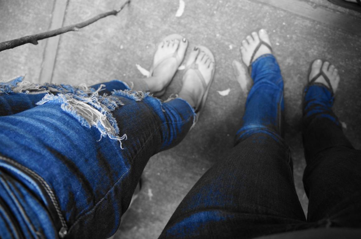 A Blue Jean Day